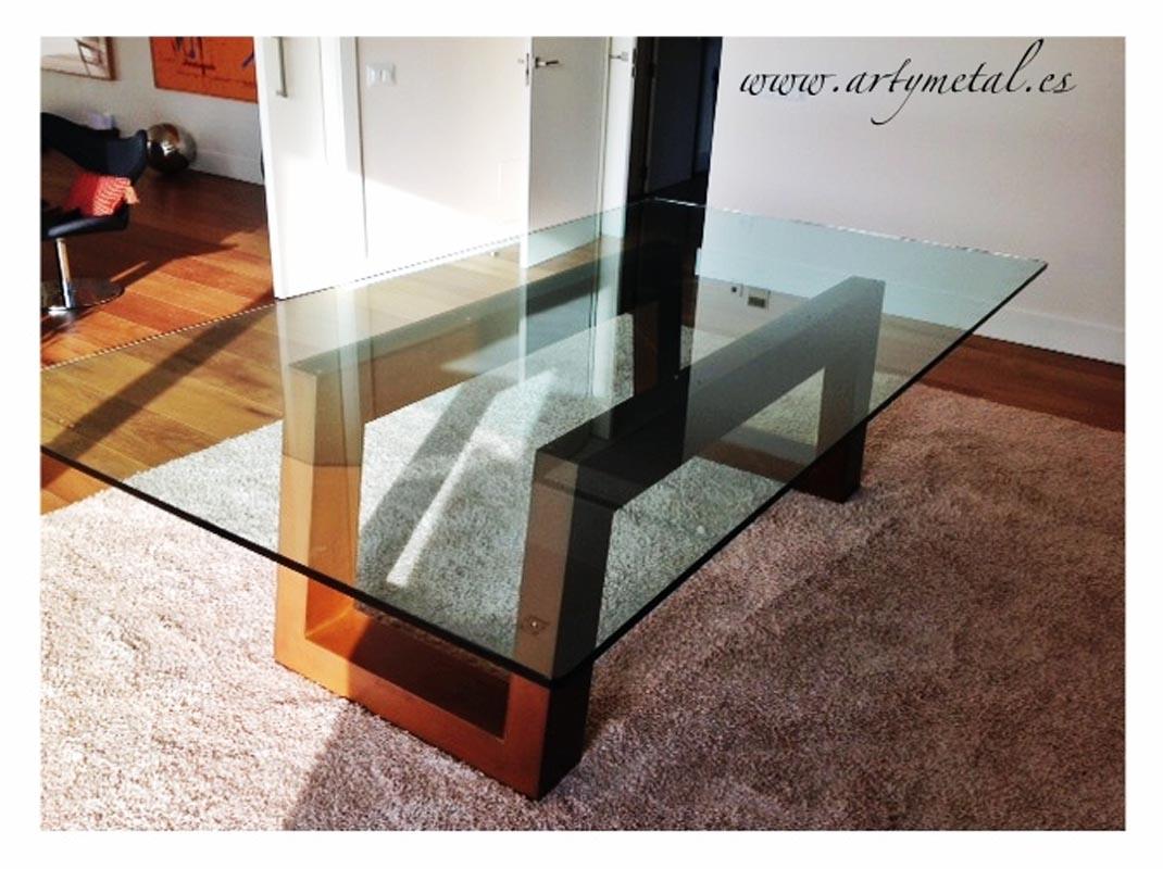 Cor Ten Steel Table Artymetal Herrer A Art Stica Contempor Nea  # Muebles Hierro Forjado Herreria Artistica